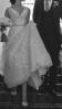 Stunning Oleg Cassini ivory/blush A Line wedding dress