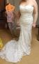 Mermaid Satin/Lace Wedding Dress
