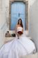 Beautiful White Rosetta Nicolini Shanessa Wedding Dress Wedding Dress -Size 12 - Newly Dry Cleaned