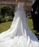 Beautiful ivory silk wedding dress UK8-10